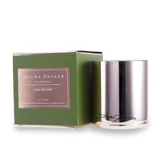 DayNa Decker Atelier Candle - Oud Vetiver 207ml/7oz Home Scent