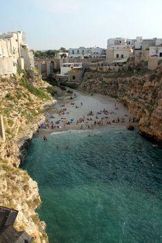 Polignano a Mare, Puglia, Italy, Dolce far niente
