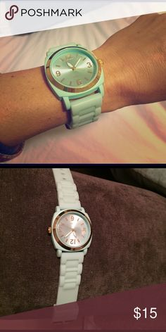 Anthropologie watch Anthropologie watch, great condition, needs a new battery which is why it's never worn Anthropologie Accessories Watches