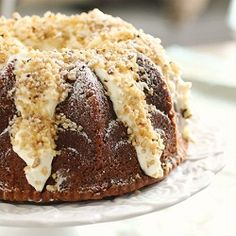 Italian Cream Bundt Cake: Another way to serve up the Italian Cream Cake with a white chocolate cream cheese icing.