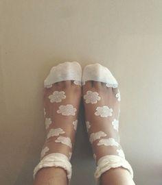 Arse play sheer socks
