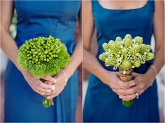 Cape Cod Style Lime Green and Blue Nautical Wedding - Inspired By This