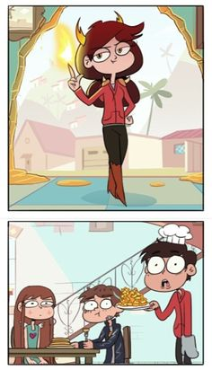 If Marco gets shipped with anyone else I'm going to die... credit Moringmark Star vs the Forces of Evil
