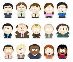 south park characters - Cerca con Google