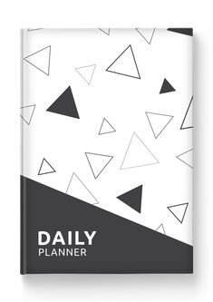 Custom cover design; Premium acid-free paper; Durable hard cover; 6 months of efficient planning. Daily Organization, Daily Planner Printable, Passion Planner, Daily Journal, Free Paper, Filofax, Cover Design, 6 Months, Templates