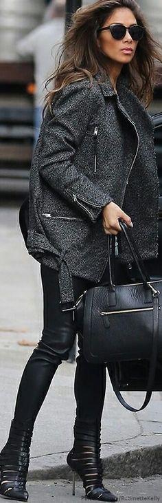 Street Style | Nicole Scherzinger http://divergenceclothing.com/