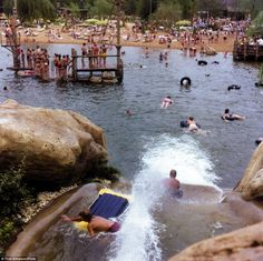 This old snap ofRapids and Ol' Swimming Hole at River Country is a far cry from what the ...