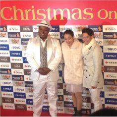 With Chris Heart(singer) and Mao Asada : XOI2014