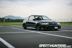CAR FEATURE>> OSAKA JDM HONDA CRX — Speedhunters
