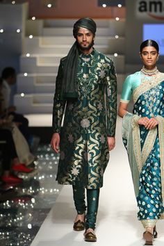 Sabayashi- photo by Sagar Ahuja/Vogue Cool Outfits For Men, Mens Dress Outfits, Men Dress, Indian Groom Wear, Indian Wear, Indian Dresses, Indian Outfits, Mens Evening Wear, Sherwani For Men Wedding
