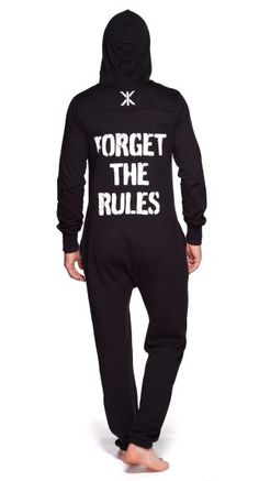 Mono Forget the Rules Onesie Black