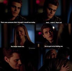 The Vampire Diaries || Stefan and Lexi
