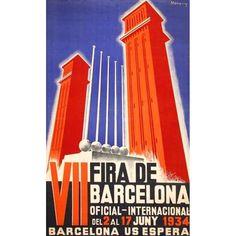 MONENY i NOGUERA, ENRIC (Barcelona 1903-1973)  Pays : España - Catalunya / Spain - Catalonia / Espagne - Catalogne  Ville : BARCELONA  Année : 1934