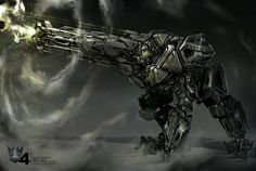 'Transformers: Age of Extinction' – Awesome Concept Art by Robert Simons