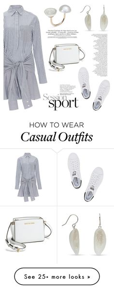 """""""Casual Monday!"""" by littlehjewelry on Polyvore featuring 10 Crosby Derek Lam, MICHAEL Michael Kors and adidas Originals"""