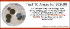 You asked for it, so we developed an affordable mold screening test for your home, office, and vehicle.