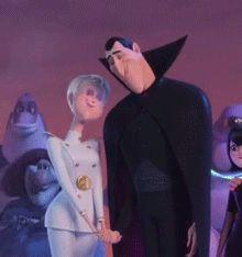 they are so… stinkin…. cute ( ᷇ॢ〰ॢ ᷆ //)♡⃛ Dreamworks, Disney Movies, Disney Pixar, Graf Dracula, Hotel Transylvania Movie, Count Dracula, Sexy Cartoons, Mavis, Romances