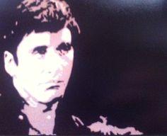 'Al Pacino', acrylic on canvas