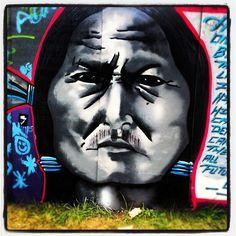 #Graffiti wall @ #Bonnaroo in #Tennessee