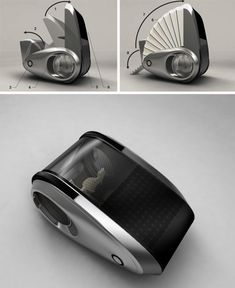 Drive & Live Off Grid: Convertible Mobile Caravan Concept