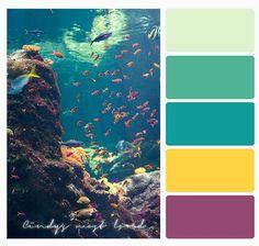 Color Palette Beach Ocean Sea