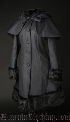 Dark Grey Thick Winter Wool Coat - Coats And Jackets - Ladies Clothing