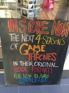 Next 4 Game of Thrones