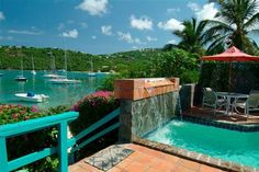 Viridian Garden | St. John USVI | Destination St John - Villa Rentals Rental Homes Accommodations Lodging