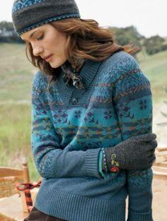 Pendleton wool Fair Isle sweater
