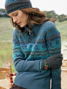 Pendleton wool Fair Isle sweater