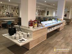 Buffet Frio, Self Service, Buffets, Laos, Kitchen Island, How To Plan, Home Decor, Hotels, Restaurants