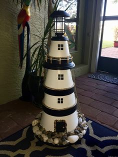 Cleaning Diy, Diy Cleaning Products, Outdoor Ideas, Backyard Ideas, Ants In Garden, Clay Pot Lighthouse, Diy Cleaners, Lanai, Terracotta Pots