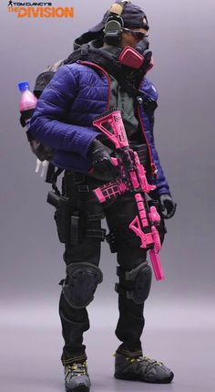 The Division Gear, The Division Cosplay, Tom Clancy The Division, Overwatch Skin Concepts, Apocalypse Armor, Military Drawings, Military Action Figures, Tac Gear, Man Of War
