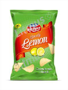 Snacks Packaging Design by Litmus Branding   #packaging #fmcg #chips #lemon