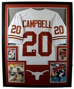 Earl Campbell Framed Jersey Signed JSA COA Autographed Texas Longhorns Houston  Oilers at Amazon s Sports Collectibles Store 56c5433a4