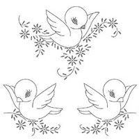 free hand stitching patterns | HAND EMBROIDERY PATTERNS/FREE - Embroidery Designs