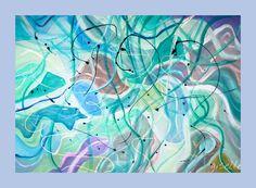 Acrylmalerei von ww.creationsgiselle.com