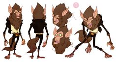 """CATSUKA - Early """"Hotel Transylvania"""" character-designs by..."""