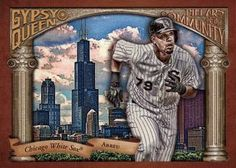 2015 Topps Gypsy Queen - Pillars of the Community #PC-JA Jose Abreu Front