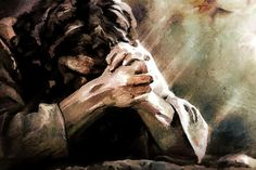 jesus prayed in garden of gethsemane painting Paintings Of Christ, Jesus Painting, Images Of Christ, Pictures Of Jesus Christ, Jesus Christ Lds, Savior, Jesus Son, Arte Lds, Prayers Of The Righteous