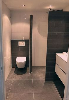 18 Stunning Half Lavatory Concepts to Encourage You Small Bathroom Layout, Tiny House Bathroom, Bathroom Spa, Budget Bathroom, Bathroom Renovations, Master Bathroom, Bathroom Ideas, Green Bathroom Decor, Brown Bathroom