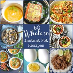 You'll love this round-up of 50 Whole30 recipes all made in the Instant Pot! A variety of breakfast, soups, and main courses to give you plenty of options. Make this round of Whole30 the easiest one ever with hands free cooking and ease of the Instant Pot! Reality check…….It's 2018 in just a few days……... Get the Recipe
