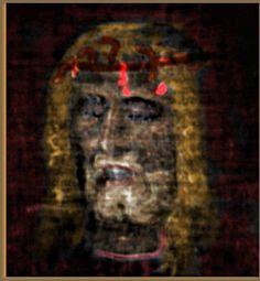 3-D image of the Risen Christ. from an image of The Shroud Of Turin.