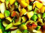 Fruity Summer Dinner: Fig Salad, Avocado Potato Salad, and Fruity BBQ'd Tofu
