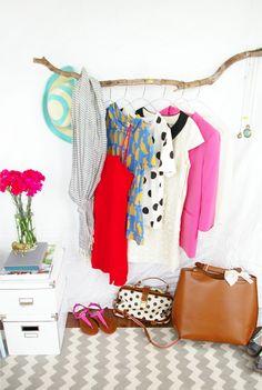 DIY // Branch Clothing Rack