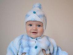 Postupy na pletené a háčkované čiapky pre bábätká a malé deti | Artmama.sk Knitwear, Diy And Crafts, Knitting, Children, Retro, Fashion, Beanies, Amigurumi, Tejidos