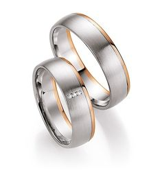 Prachtige Bicolor Dames Trouwring en Bicolor Heren Ring eenvoudig online te bestellen. Trouwringenvoordeel.nl - € 895,00