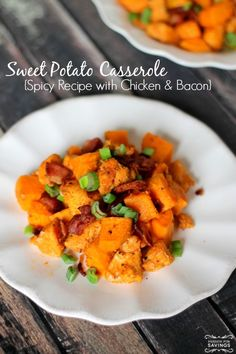 Spicy Sweet Potato Casserole! Easy Side Dish Recipe for Fall!: