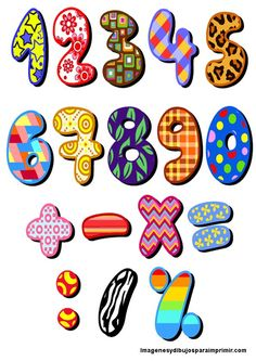Royalty free clipart illustration of patterned numbers, on a white background. This royalty-free cartoon styled clip art picture is available as a fine art print and poster. Clipart Patterned Numbers - Royalty Free Vector Illustration by yayayoyo Design Page, Art Design, Graphic Design Art, Graffiti Font, Free Vector Illustration, Letters And Numbers, Vector Free, Character Design, Doodles