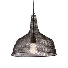 chic hanging lighting ideas lamp. Illuminate Your Breakfast Nook Or Dining Table In Style With This Industrial-chic Pendant, Featuring A Densely Woven Wire Shade And Organic Silhouette. Chic Hanging Lighting Ideas Lamp